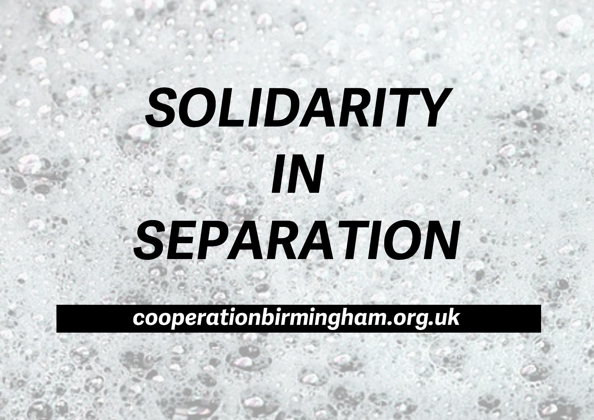 Cooperation Birmingham